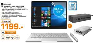 [Saturn Hamburg] MS SURFACE BOOK (i5, 8GB,128GB SSD) inkl. SURFACE DOCK und PEN Kit für nur 1199,- €
