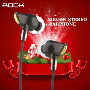 [AliExpress 7th Sale] Rock Zirkon In-Ears für 8,29€ oder 7,80€ (AliApp) VSK-frei