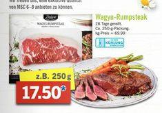 [Lidl offline ab 3.4.] Wagyu Rumpsteak 69,99/kg