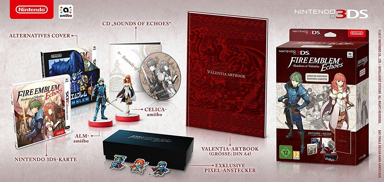 Saturn.de Fire Emblem Shadows of Valentia Limited Edition Nintendo 3DS für 79,99 vorbestellbar (Amazon 89,99)