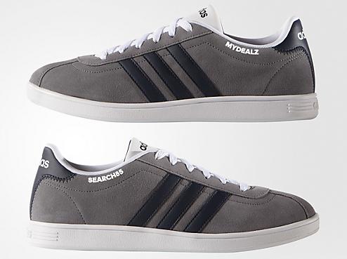 Adidas VL Court Schuhe aus Wildleder für 43,41€ bei Adidas