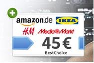 ADAC-Plus Mitgliedschaft über WEB.DE mit 45,- Bestchoice (Amazon) Guschein