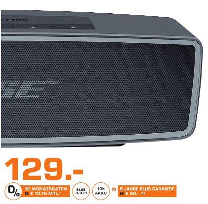 [Lokal Saturn Bad Oeynhausem] Bose SoundLink Mini II Bluetooth speaker - Carbon für 129,-€