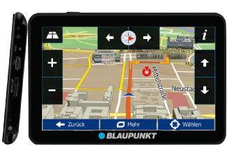 """Blaupunkt TravelPilot 54 CE LMU - Navigationssystem mit 5"""" Display, Bluetooth Freisprecheinrichtung, Kartenmaterial Zentraleuropa, lebenslange Karten-Updates, TMC Stauumfahrung, Fahrspurassistent für 69 € bei Mediamarkt"""