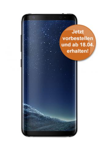 [Logitel] Samsung S8 + Vodafone Smart L (34,99 montl. + 149,- € Zuzahlung = 988,76) S8 plus 249€ Zuzahlung