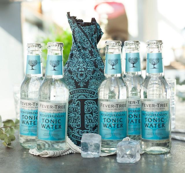 [Foodist] Gin & Tonic Angebote, z.B. 2x Ferdinand Saar Gin 0,5l + 10x Fever Tree Mediterranean 62,73€