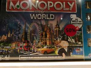 [Hamburg Karstadt Europa Passage] Monopoly Here & Now: World für 10,00 Euro