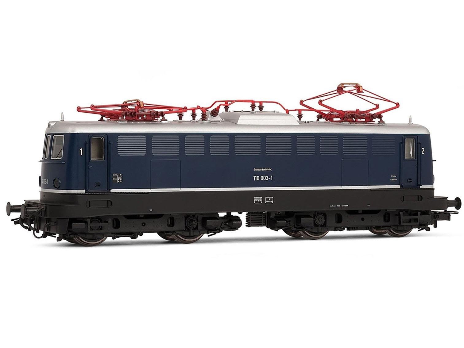 "nach 7 Stunden alle weg... Modellbahn Ellok Rivarossi HR2312 Elektrolok BR 110 (Vorserie) DB H0 DC bei DM Toys ""recertified"""