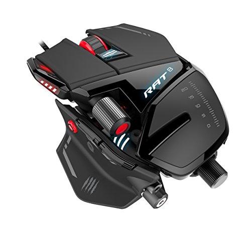 [amazon.fr] MadCatz R.A.T 8 Gaming Mouse (PixArt PMW 3360, USB) für 73€ statt 86€