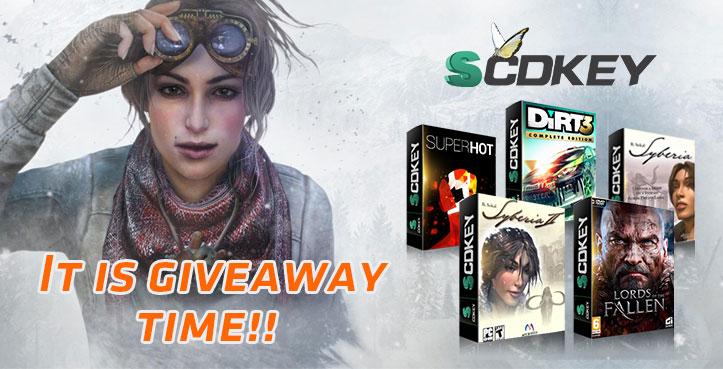 Giveaway bei [SCDKey] [Steam] - z.B. Superhot, Lords of the Fallen: Deluxe Edition u.a. (zufallsbedingte) Spiele kostenlos