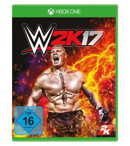 WWE 2K17 (Xbox One) für 16,14€ [Amazon Prime only]