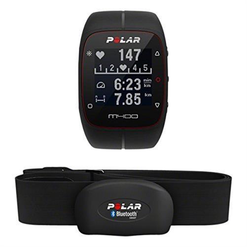 Polar M400 Sportuhr mit Herzfrequenz Brustgurt schwarz 18% Rabatt Neuware [eBay nox-electronics]