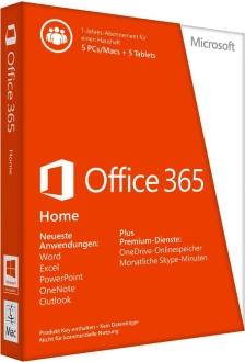 Office 365 (5 Installationen / Geräte) kostenlos für 1 Jahr [Microsoft]