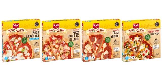 [glutenfrei] 1,50€ auf alle Schär Bontà d'Italia Pizzen