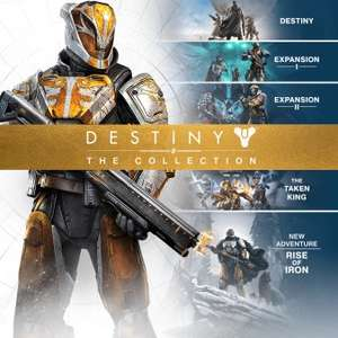 Destiny: The Collection (Destiny + Erweiterung I + Erweiterung II + König der Besessenen + Das Erwachen der Eisernen Lords) (PS4) für 25,19€ [PSN]