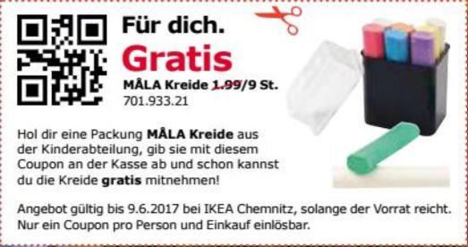 [IKEA Chemnitz] Gratis Kreidebox Mala