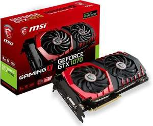 MSI GeForce GTX 1070 X Gaming 8GB - Amazon.Fr Warehouse Deals