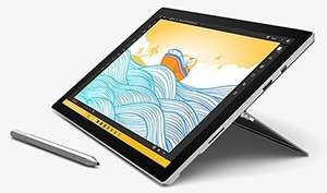 Microsoft Surface Pro 4 M3-6Y30/4GB RAM/128GB SSD inkl. Stift für 657,59€ & Surface Pro 4 i5-6300U/4GB RAM/128GB SSD für 752,54€ [Amazon.co.uk]