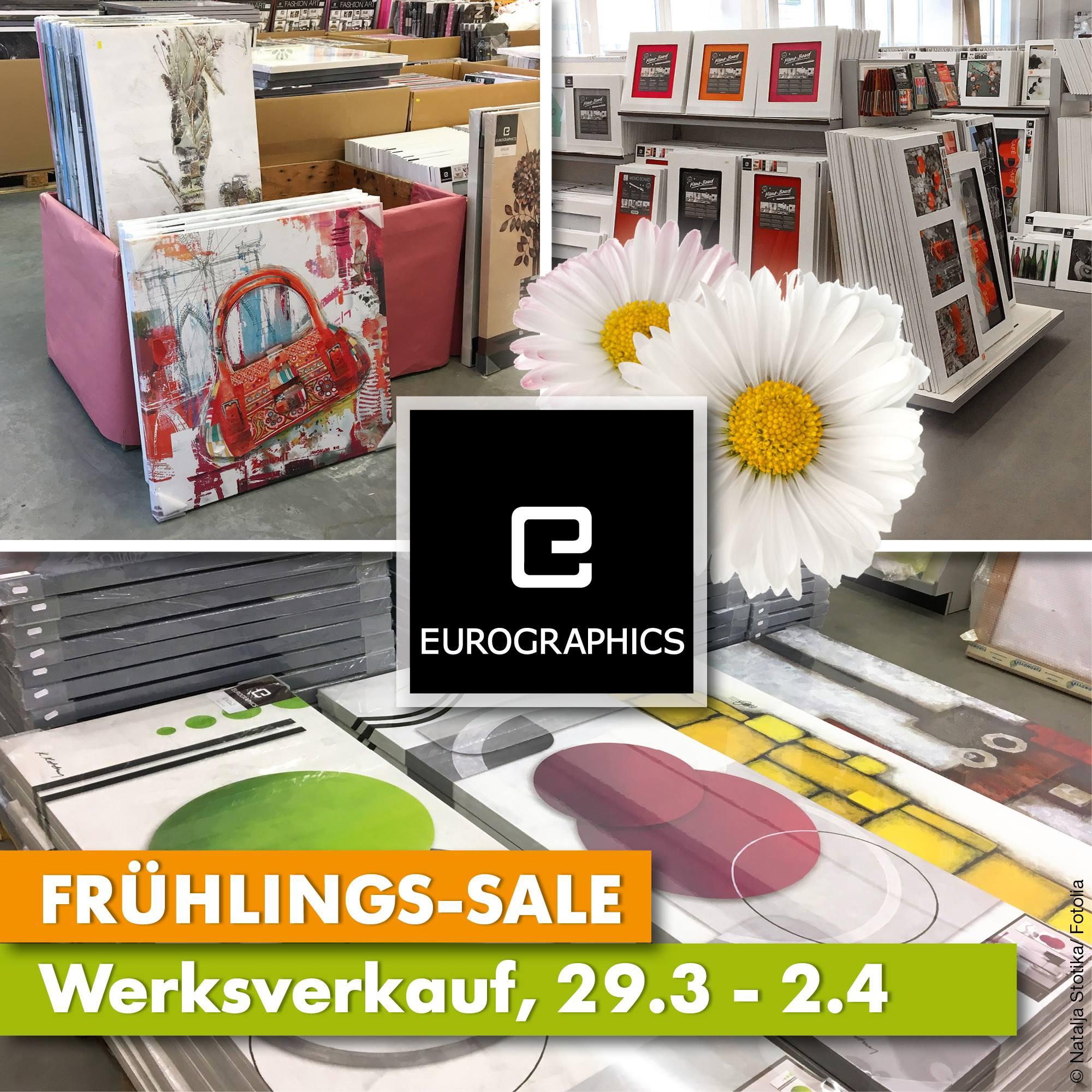 50% bei Eurographics Werkverkauf (Lokal Neutraubling)