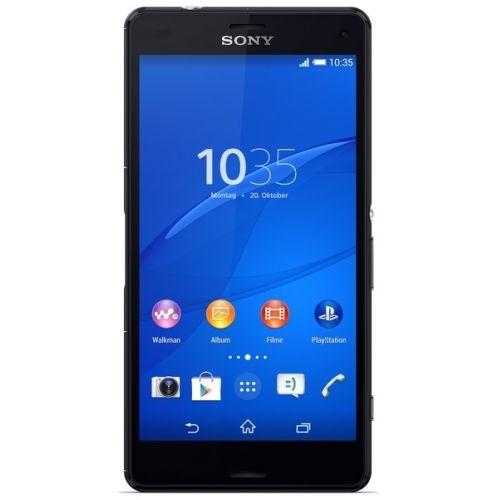 Sony Xperia Z3 Compact 16 GB - Schwarz (Ohne Simlock) (Neu) aus GB [ebay]