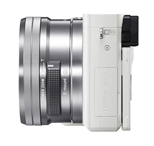 [Amazon.de] Sony Alpha 6000 Systemkamera inkl. SEL-P1650 Objektiv weiss 529€ inkl VSK