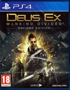Deus Ex Mankind Divided (AT-PEGI) PS4 & Xbox One für 9,90€ + Versand (gameware.at)