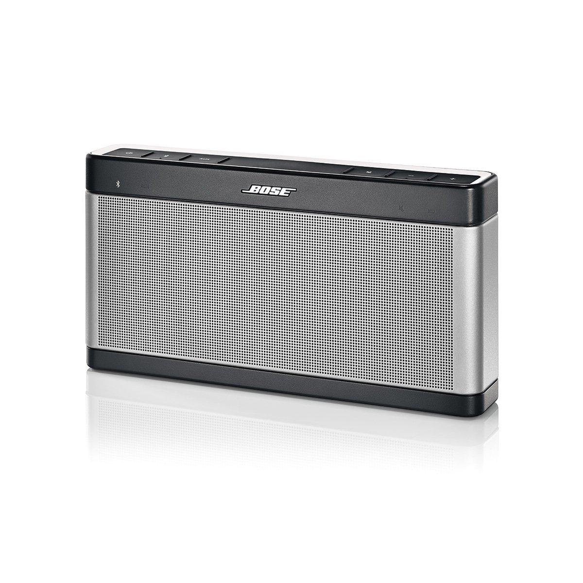[Amazon] Bose SoundLink Bluetooth Lautsprecher III silber