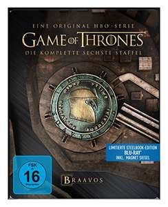 [amazon.de] GoT Staffel 6 Steelbook