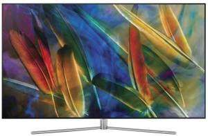 [Wermuth] 163 cm 65 Zoll Samsung QE65Q7F EEK A Twin DVB-T2/C/S2, QLED, UHD, Smart TV, WLAN, PVR ready, CI+ Silber