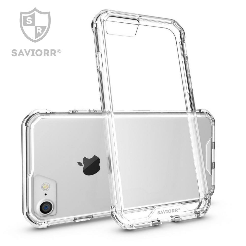 [Amazon.de] 33% Rabatt-Code auf Premium iPhone 7 Case Transparent - EXTRA Stabil - verstärkter Eckenschutz