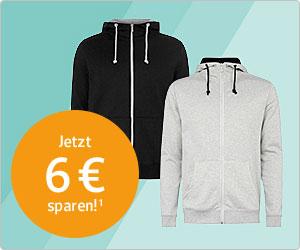 Herren Hoodie bei TAKKO jetzt 50% günstiger (über GMX.de - WEB.Cent)