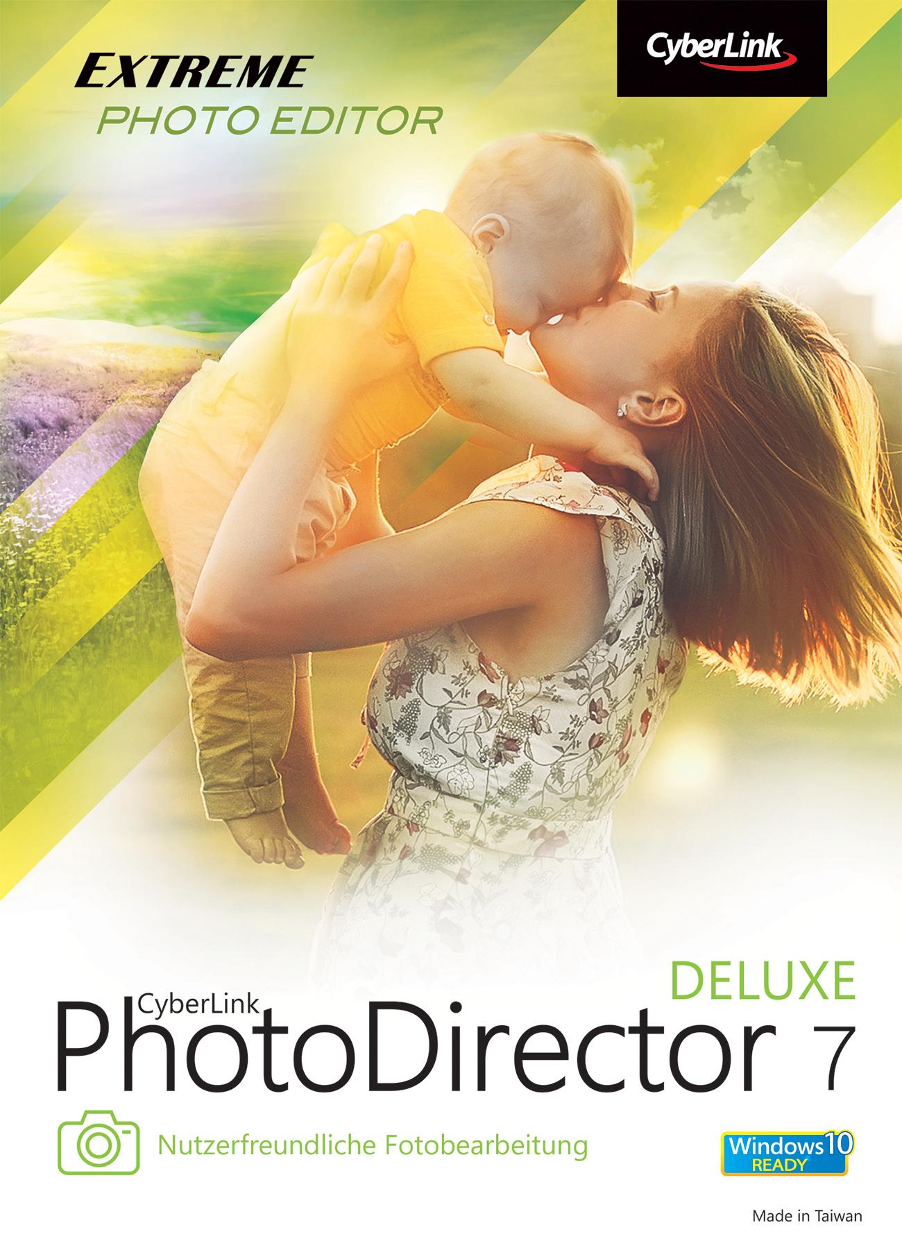 CyberLink Photodirector 7 Deluxe - Vollversion kostenlos