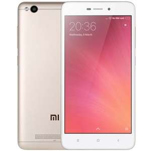 Xiaomi Redmi 4A 4G Smartphone  -  INTERNATIONAL VERSION  GOLDEN