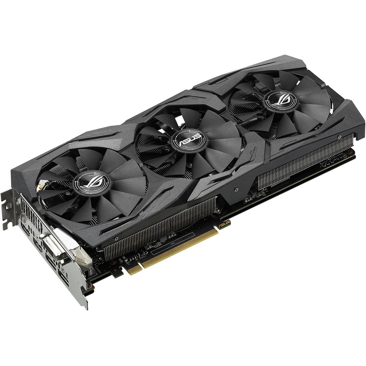 Mindfactory Angebot: 8GB Asus GeForce GTX 1070 Strix OC Aktiv PCIe 3.0 x16 (Retail)