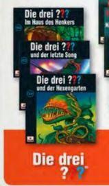 [Müller] Die drei ??? / Die drei ??? Kids / Die drei !!! - 3 CDs für 12 €