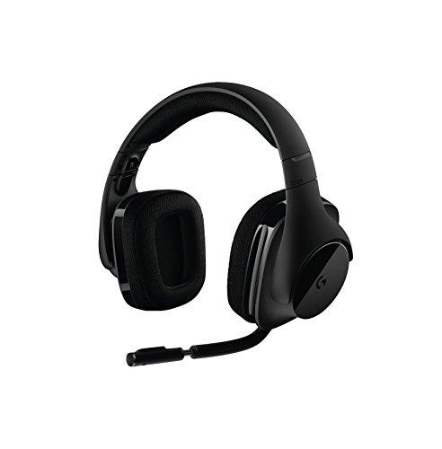 Logitech G533 Gaming-Headset (kabelloser DTS 7.1 Surround-Sound) schwarz für 55,84€