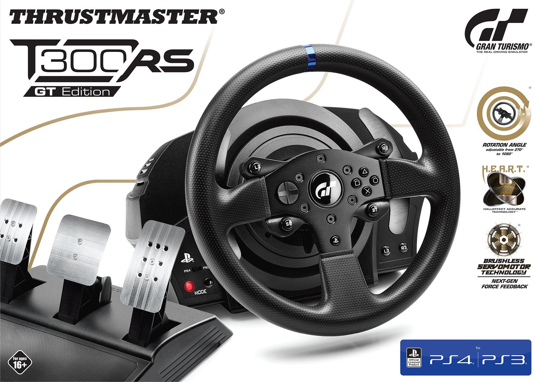 [amazon.fr] Thrustmaster T300 RS GT Edition - Lenkrad und 3er-Pedal-Set ( für PC, PS3, PS4) // 259€ statt 309€