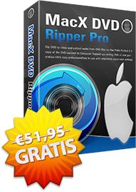 MacX DVD Ripper V5.5 kostenlos statt 51,95€: alle Typen von DVDs und Intel QSV unterstützen