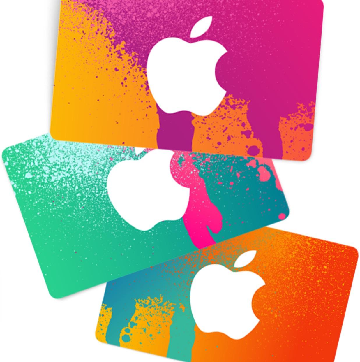 Apple iTunes 25€ / 50€ / 100€ Guthaben Karten mit 10% Rabatt [Real]