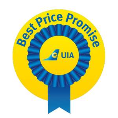 fast kostenloses UPGRADE auf Business-Class Flüge bei UIA über Tiefpreisgarantie