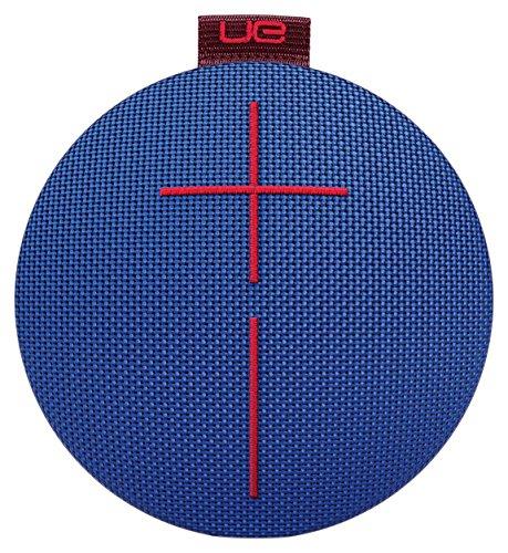 UE ROLL 2 Bluetooth-Lautsprecher (Wasserdicht, Schlagfest, Atmosphere - mit Schwimmhilfe) blau/kastanienbraun/rot für 64,30€ [amazon.fr]