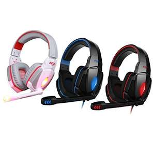 EasySMX 3.5mm Stereo Gaming Kopfhörer Headset-Stirnband mit Mic Volume Control