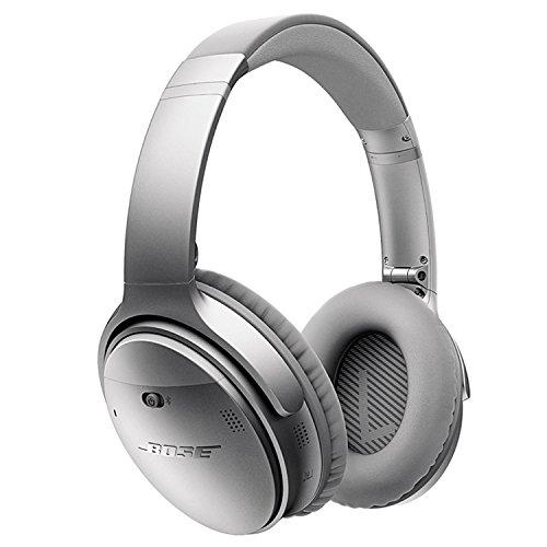 Bose Quietcomfort 35 kabelloser Kopfhörer silber