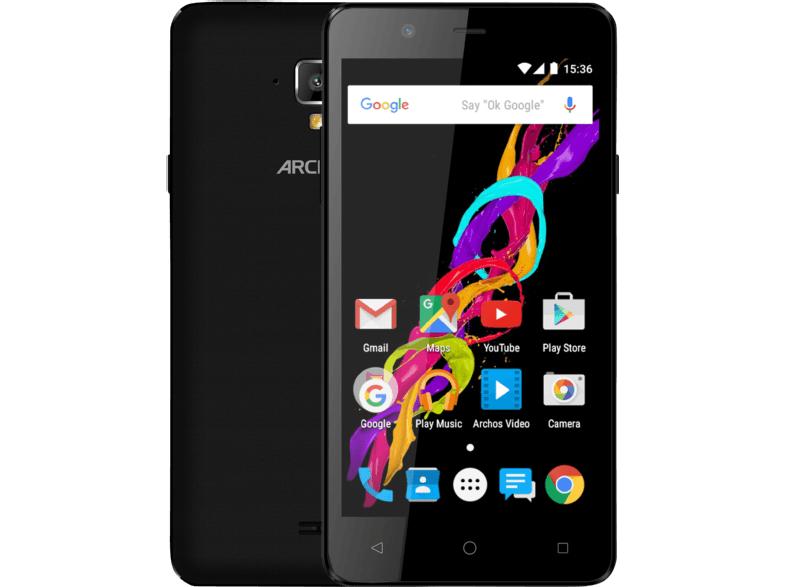 [Media Markt ] ARCHOS 50 Titanium 4G 8 GB Schwarz Dual SIM für nur 39€