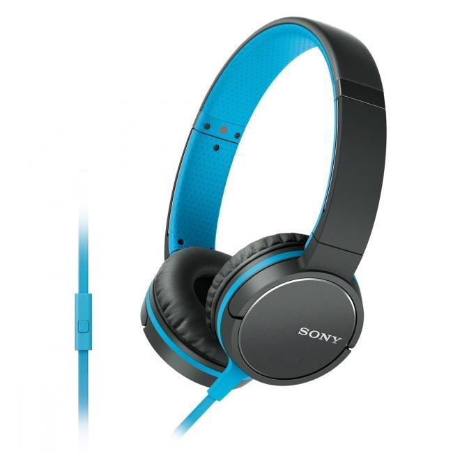 [Euronics] Sony MDR-ZX660APL Kopfhörer mit Kabel blau