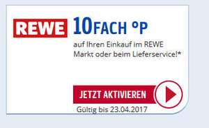 Rewe / Payback  - 10 fach Payback bis 23.04