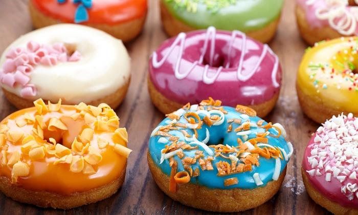 (lokal) Donut-Box bei Dunkin'Donuts Berlin ab 6,99€ via Groupon