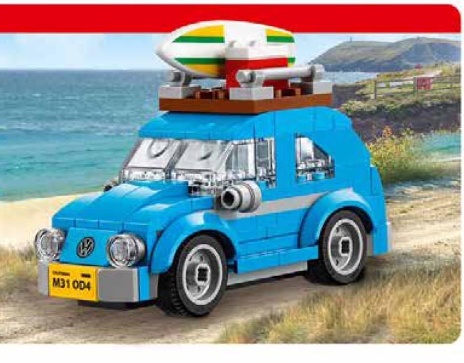 Gratis Lego Mini-Käfer 40252 im Wert von 12,99€ beim Lego-Einkauf ab 40€ MBW im [Lego] Shop