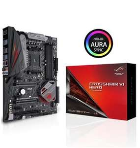 Asus ROG Crosshair VI Hero AMD X370 So.AM4 Dual Channel DDR4 ATX ( Mindfactory), inkl. PREY (PC Game)