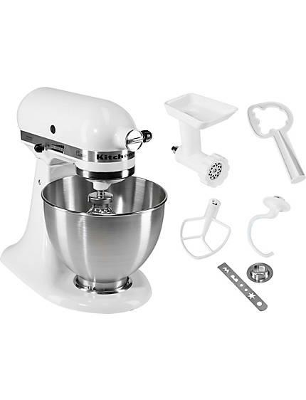 KitchenAid® Küchenmaschine Classic 5K45SS EWH inkl. Sonderzubehör